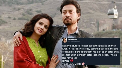 Pakistan, India and the world mourns Irrfan Khan's demise