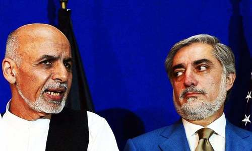 Abdullah says 'tentative' agreement reached with Ghani