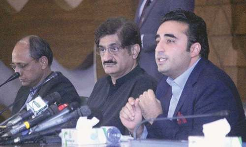 Bilawal asks PM to quit if he can't cope with challenges