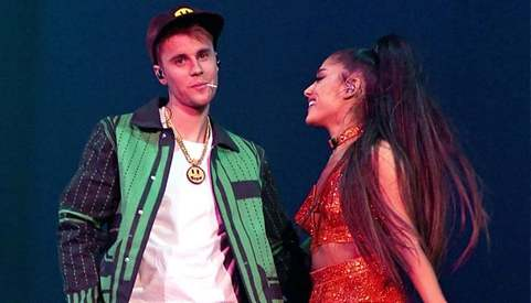 Justin Bieber and Ariana Grande are collaborating on a song for charity
