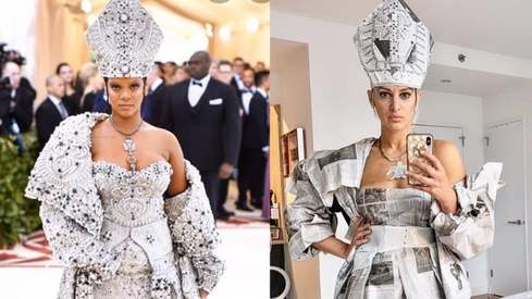 Fans are recreating iconic Met Gala outfits at home