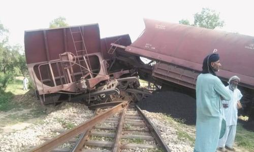 Freight services suspended as goods train derails near Odero Lal