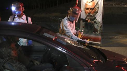 Banned drive-in cinemas make a return in Iran after Covid-19