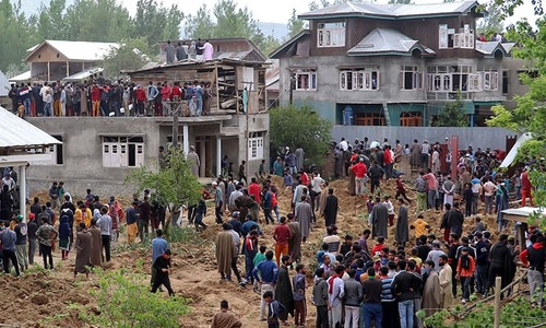 Maths teacher-turned-top Kashmiri fighter killed by Indian troops