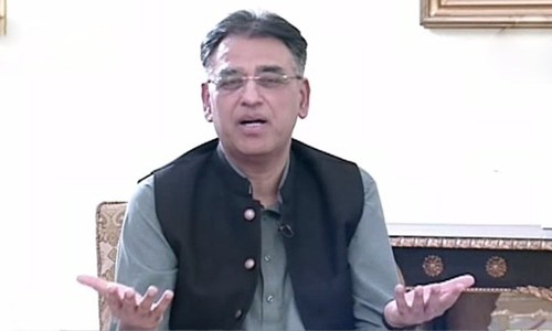 Minister for Planning and Development Asad Umar said six major decisions have been taken by the government. — DawnNewsTV