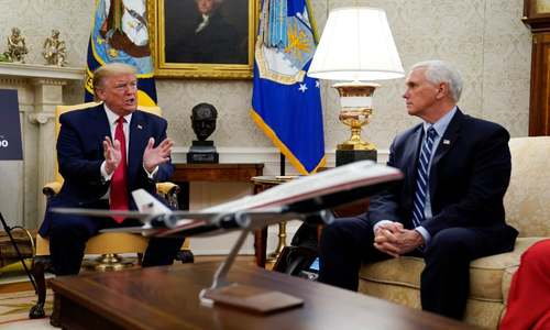 Trump's valet tests positive for coronavirus