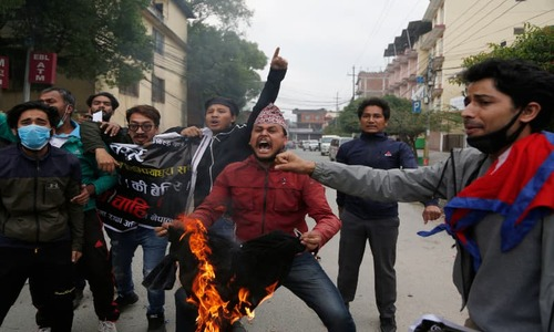 Nepal summons India envoy as road protests rage