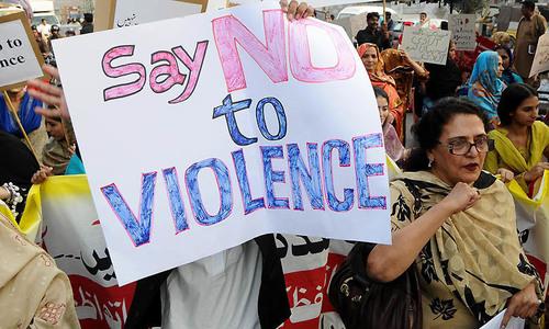 ملک میں سال کی پہلی سہ ماہی میں خواتین پر تشدد میں 360 فیصد تک اضافہ