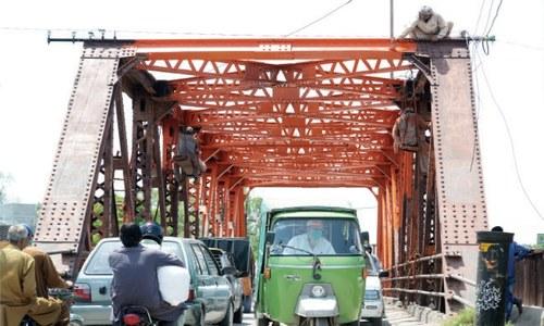 Renovation of Pindi's historical bridge initiated