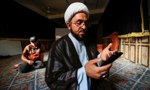 In virus-hit Iraq, shrine visits go virtual