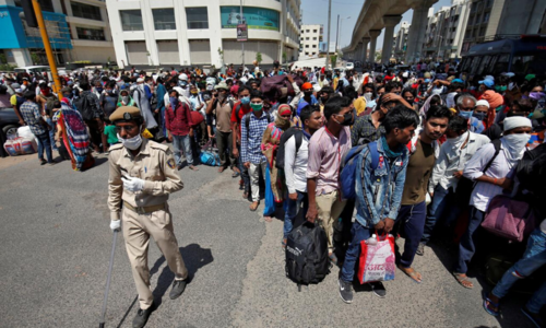 Delayed survey data blurs India's coronavirus picture
