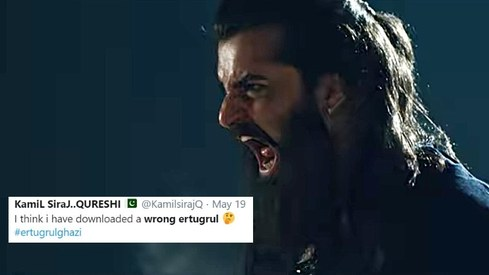 You might've downloaded the wrong Ertugrul