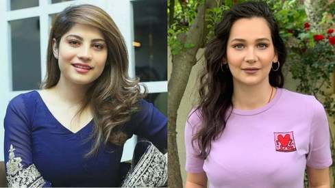 Neelum Muneer just had the cutest moment with Ertugrul actor Gülsim Ali