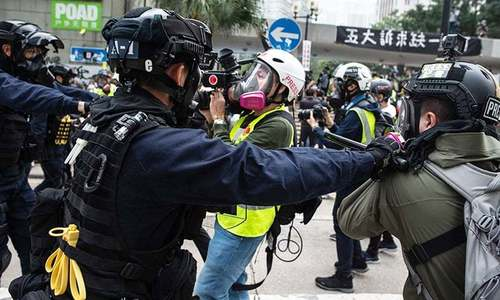 China plans new security law for Hong Kong