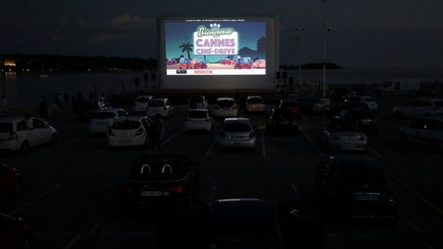 Cannes rolls out drive-in cinema