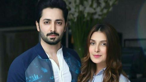 Danish Taimoor, Ayeza Khan slam fake news about being onboard PK-8303
