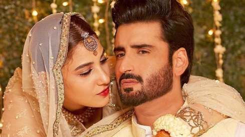Aagha Ali and Hina Altaf just announced their nikkah