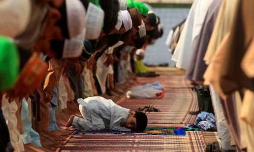 ملک بھر میں کورونا کے باعث سادگی سے عیدالفطر منائی جا رہی ہے