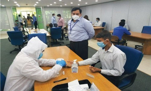 'If more companies test employees for antibodies, it will help ease the government's burden'