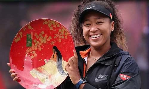 جاپانی ٹینس اسٹار ناؤمی اوساکا مہنگی ترین خاتون ایتھلیٹ بن گئی
