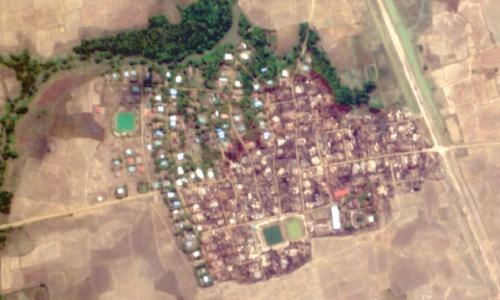 Myanmar village destruction has 'hallmarks' of military: HRW