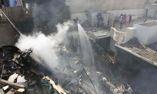 Rabbani, trade union leaders reject plane crash inquiry panel
