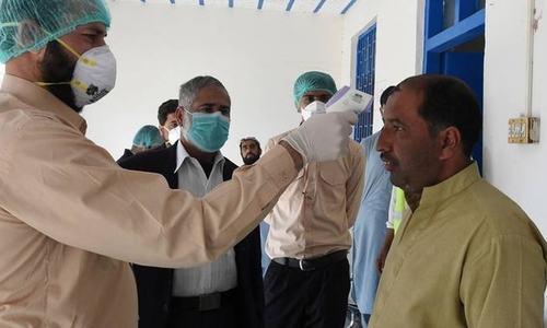 کورونا وبا: پاکستان میں 58 ہزار 687 کیسز، صحتیاب افراد کی تعداد 19 ہزار سے زائد