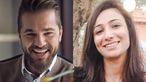 Anoushey Ashraf gets a surprise Eid greeting from Ertugrul