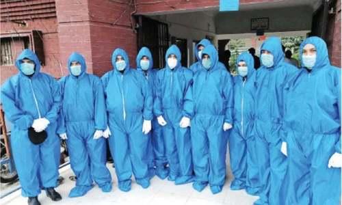 ایبٹ آباد: ڈی ایچ کیو ہسپتال کے ڈاکٹرز سمیت عملے کے 28 ارکان میں کورونا کی تصدیق