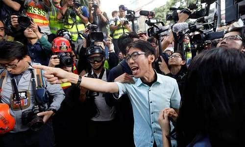 ہانگ کانگ میں سیاسی بحران: چین کےخلاف احتجاج پر 300 افراد گرفتار