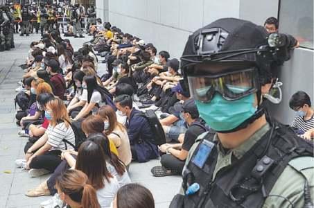 US revokes Hong Kong special status as furor grows on China law