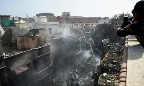 کراچی: طیارہ حادثے کے مقام سے 3 کروڑ روپے سے زائد کی کرنسی برآمد