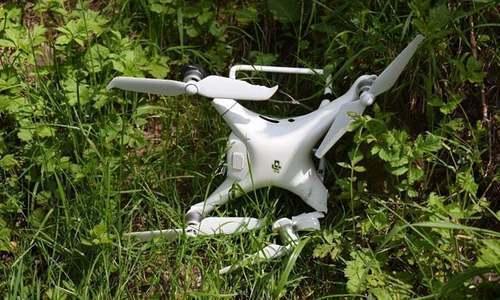 پاک فوج نے ایل او سی پر بھارتی جاسوس ڈرون مار گرایا