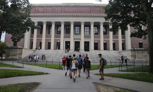 امریکا میں زیر تعلیم چینی طلبہ کو ملک بدر کیے جانے کا امکان
