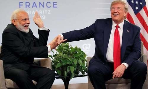 مودی نے ٹرمپ سے چین کے ساتھ سرحدی تنازع پر کوئی بات نہیں کی، سفارتی ذرائع