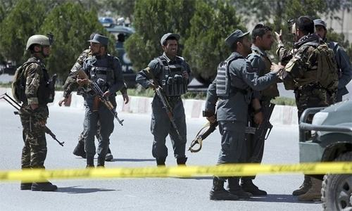 Taliban storm Afghan border post, kill 14 security men