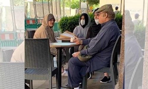 نواز شریف کی تازہ تصویر نے ایک مرتبہ پھر ان کی صحت پر بحث چھیڑ دی