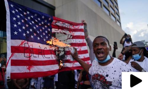 امریکا: سیاہ فام شخص کی ہلاکت کے بعد پُرتشدد مظاہروں میں شدت آگئی