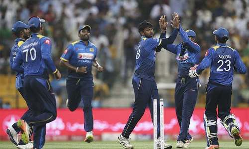 Sri Lanka cricketers return to training today