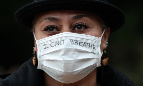 In pictures: 'I can't breathe' — George Floyd's killing sparks protests across US