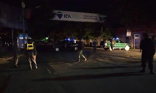 کابل کے گرین زون کی مسجد میں دھماکا، امام سمیت دو افراد جاں بحق