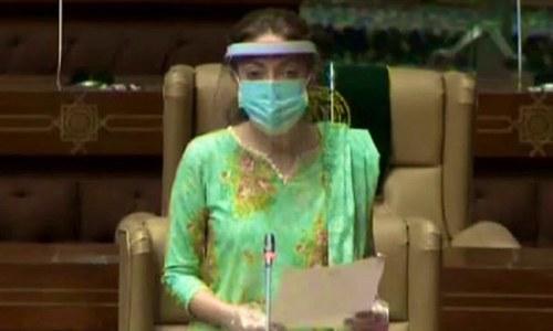 شرمیلا فاروقی خواتین کی مخصوص نشست پر رکن سندھ اسمبلی منتخب