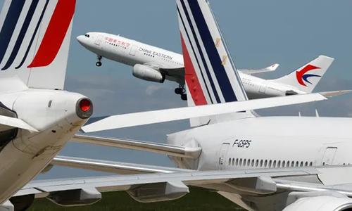 امریکا کا چینی مسافر طیاروں کے داخلے پر پابندی کا اعلان