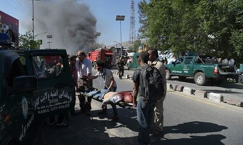 Roadside bomb kills nine civilians in southern Afghanistan