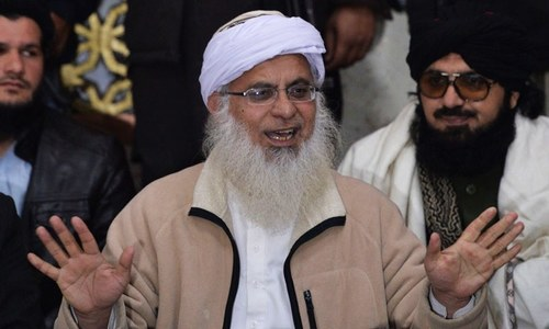 Maulana Aziz moves to Jamia Hafsa