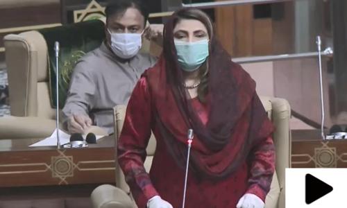 سندھ اسمبلی میں نصرت سحر عباسی اور اسپیکر میں نوک جھوک