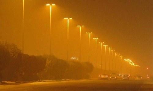 محکمہ موسمیات نے کراچی میں آج پھر تیز آندھی کا امکان ظاہر کردیا