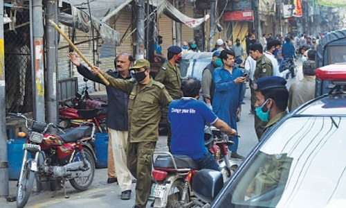 More than 100 shops sealed in Lahore amid violation of SOPs