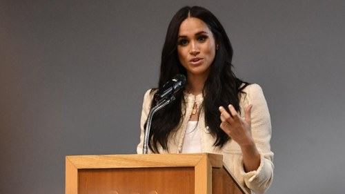 Meghan Markle gives emotional speech on why George Floyd's life mattered