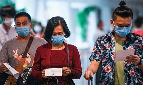 WHO supports masks where virus widespread, distancing tough